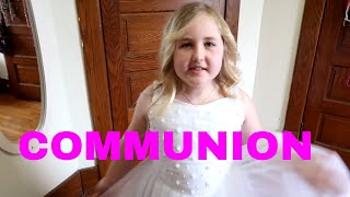 Rosas first communion most popular videos her first communion day day 119 043017 fandeluxe Gallery