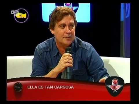 Ella Es Tan Cargosa video Entrevista CM Rock - Abril 2015