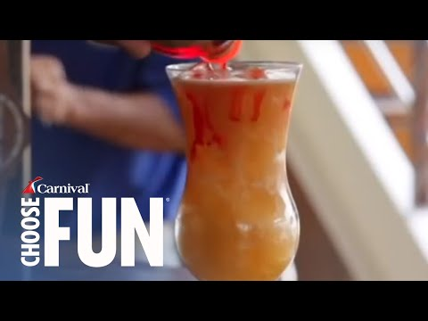 How to Make a Rum Jumper Cocktail | Carnival Cruise Recipes | Carnival Cruise Line