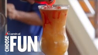 How to Make a Rum Jumper Cocktail   Carnival Cruise Recipes   Carnival Cruise Line