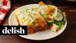 Crock-Pot Lasagna | Delish
