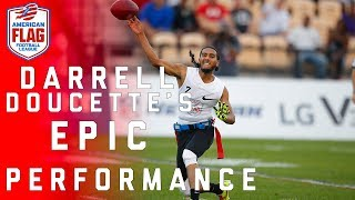 Mike Vick 2.0? Darrell Doucette's Epic Flag Football Performance! | NFL