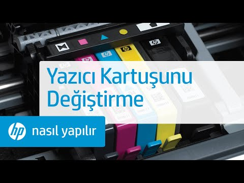 Yazıcı Kartuşunu Değiştirme - HP Photosmart Premium e-All-in-One - C310a