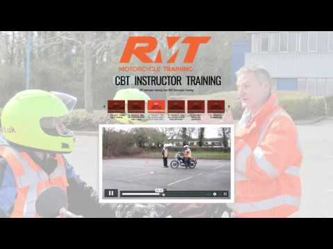CBT Motorcycle Instructor Training Course (Online) - RMT ...