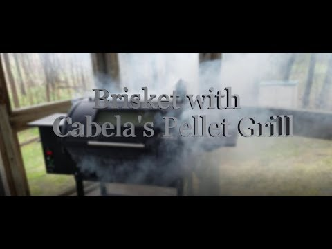 SMOKED BRISKET WITH CABELA'S PELLET GRILL