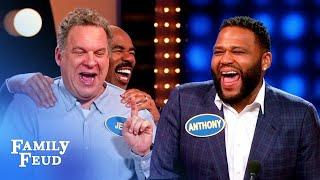 EPIC EPISODE! It's black-ish vs. The Goldbergs! | Celebrity Family Feud
