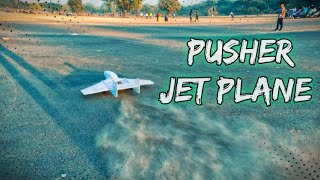 RC jet plane flying with racing drone/jet plane fly/rc plane fly/PRINCE PANCHAL MAKER