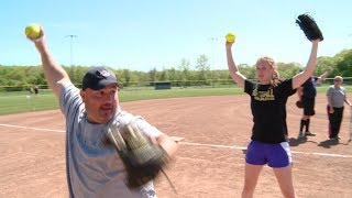 GameDay Challenge: Pitching a softball with Stonington's Trinity Lennon