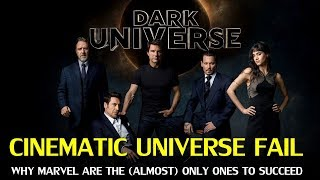 Why do Cinematic Universes that aren't Marvel so often Fail?