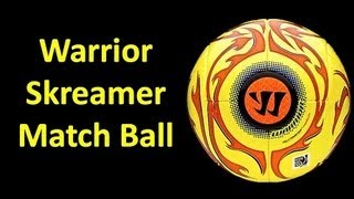 Warrior Skreamer Match Ball - Unboxing
