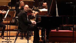 Chopin Piano Concerto No. 2 // David Fray // Christoph Eschenbach (Excerpt)