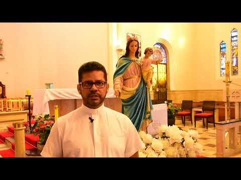 Pe. Márcio Celestino convida para a oitava noite da novena em honra a Nossa Senhora Auxiliadora