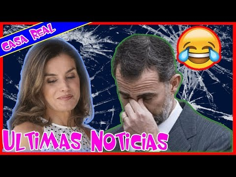 Unas horas más! - Las expresiones humorísticas de Felipe y Letiza a finales de 2018.