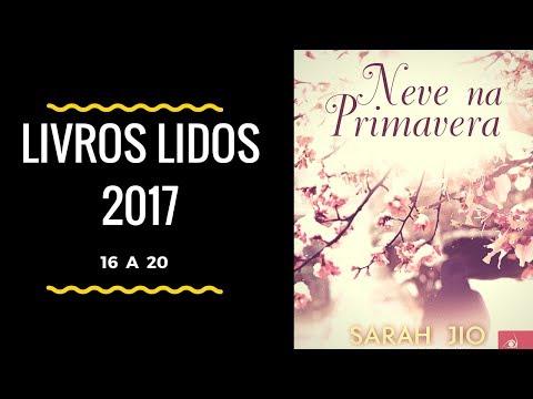 Livros Lidos 2017 - 16 a 20