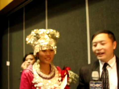 shua sheng thao winning 1st place singing and interview with hbctv