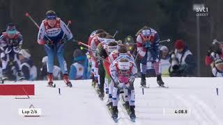 VM Seefeld 2019 - Längdåkning - Sprintstafett D+h