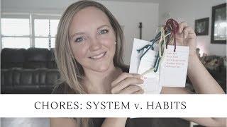 NO MORE CHORE CHARTS? || HABIT TRAINING Vs. CHORE CHARTS