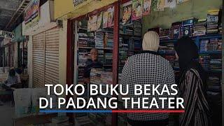 Nasib Pedagang Buku Bekas di Padang Teater Pasar Raya, Pembeli Sepi, Kesulitan Bayar Sewa Toko