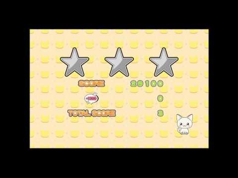 Video of Landing Cat [Sweet Cat Puzzle]