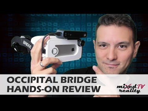iPhone AR & VR Headset: Occipital Bridge & Structure Sensor Hands-On Review