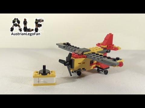 Vidéo LEGO Creator 31029 : L'hélicoptère cargo