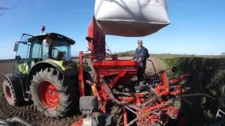Claas Arion 530 Sowing Spring Barley