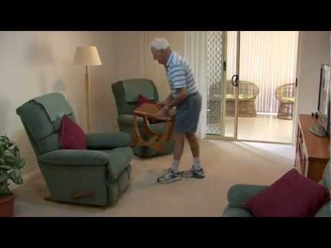 Falls Prevention - reducing hazards at home