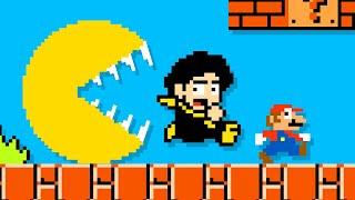 PACMAN vs LOKMAN and Super Mario