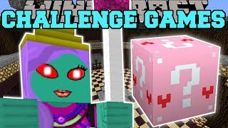 Minecraft: QUEEN ZOMBIE CHALLENGE GAMES - Lucky Block Mod - Modded Mini-Game