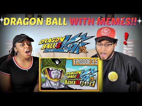 """TeamFourStar """"Dragon Ball Z KAI Abridged Parody: Episode 3.5"""" REACTION!!"""