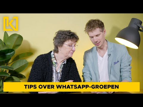 Technisch leven tip 8 - Whatsapp-groepen