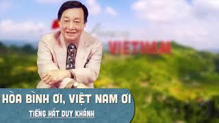 Hợp âm Hòa Bình Ơi Việt Nam Ơi Trầm Tử Thiêng