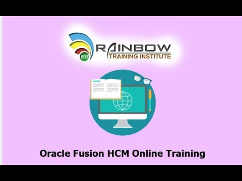 Oracle Fusion HCM Techno Functional Day 1 - YouTube