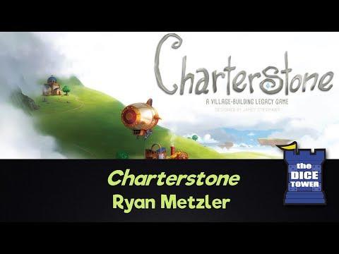 Dice Tower Reviews - Charterstone (Spoilers!) w/ Ryan Metzler