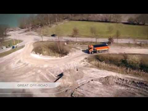 DAF CF Series at work in construction