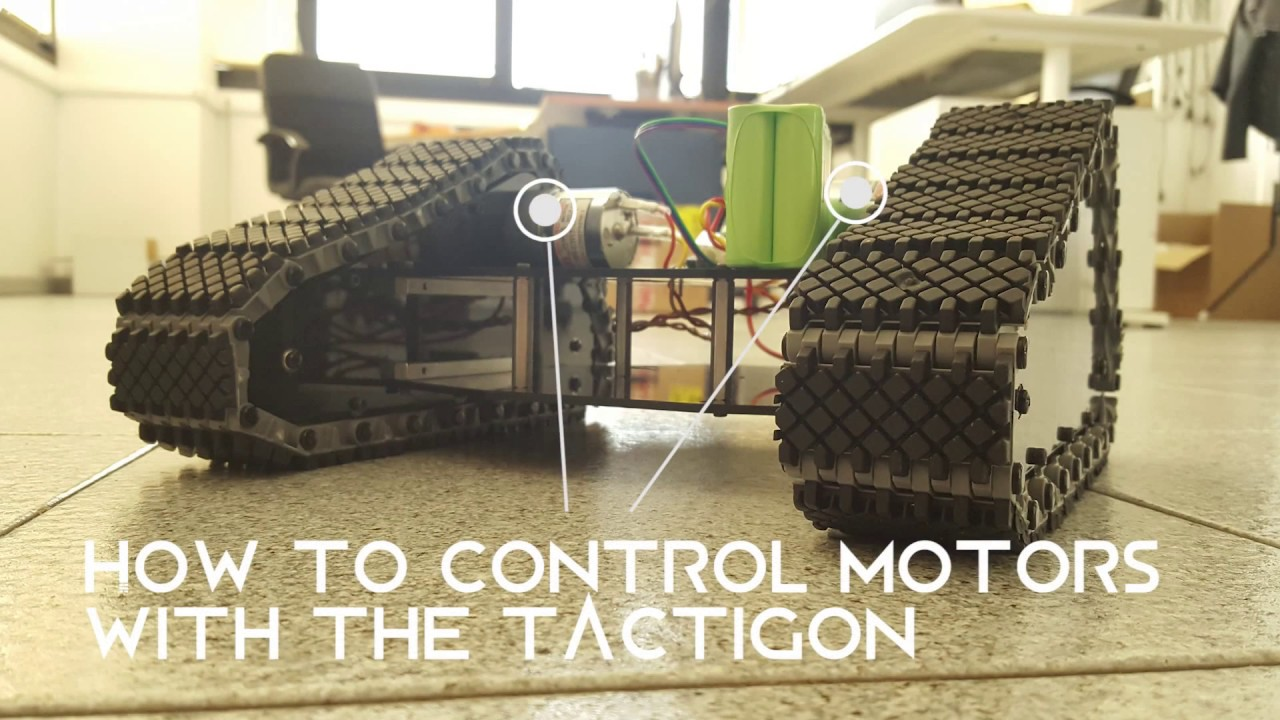 Control two DC Motors!