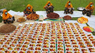Ramadan Iftar 2020 - Spice & Sweet Food Arrangement For Whole Village People With Social Distance