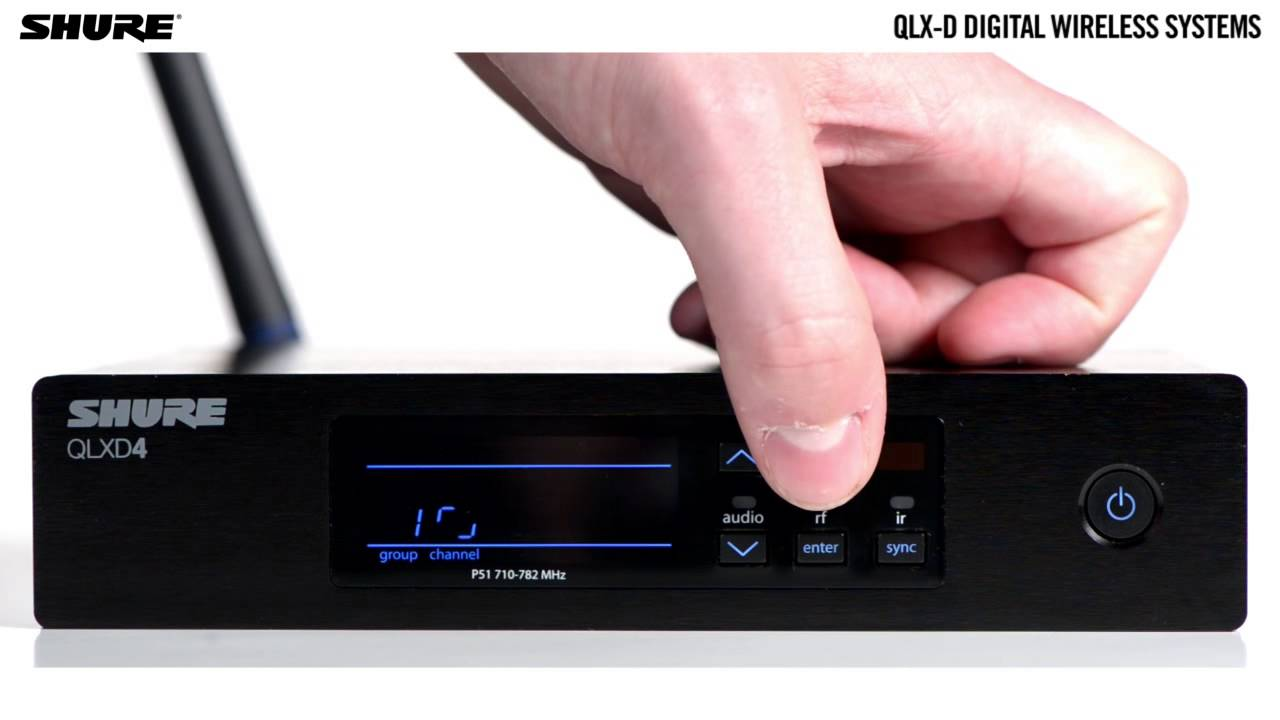 QLX-D Digital Wireless Systems: QLXD2 Digital Wireless Handheld