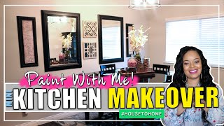 Breakfast Nook Makeover | DIY Before And After Kitchen Transformation | MrsJRoche