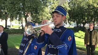 Wideo1: Uroczystość pod pomnikiem garnizonowym
