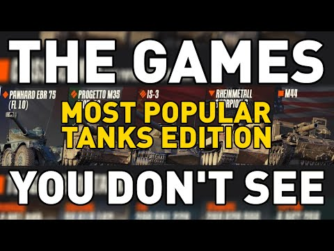 Download The Games You Don't See: MOST POPULAR TANKS Mp4 HD Video and MP3