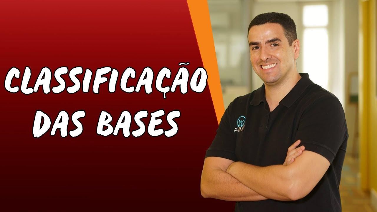 Classificações das Bases
