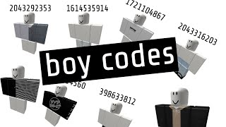 codes for boy clothes on roblox high school supreme