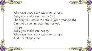 Christina Aguilera - Make Me Happy Lyrics