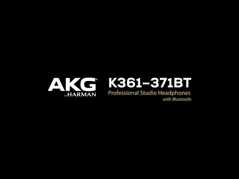 AKG K361-BT and K371-BT Headphones: Precision Performance Meets Pure Freedom