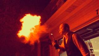 Fire breather for unique corporate events