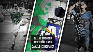 Dallas Sidekicks vs Monterrey Flash