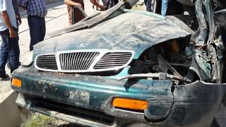 preview picture of video 'Авария в Душанбе насмерть'
