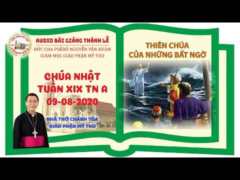 Đức Cha Phêrô suy niệm CN XIX TN A: THIÊN CHÚA CỦA NHỮNG BẤT NGỜ