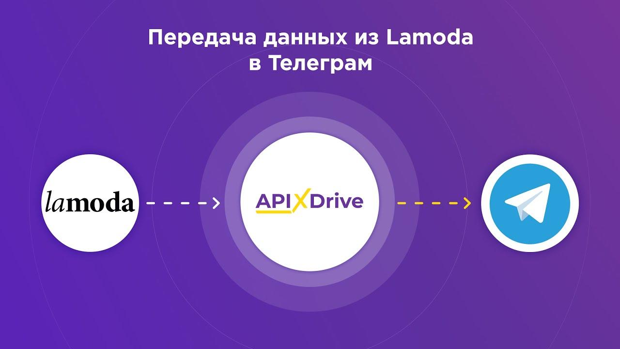 Как настроить выгрузку данных по заказам из Lamoda виде уведомлений в Telegram?